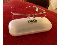 D&G glasses prescription frames
