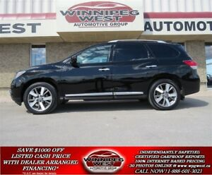 2013 Nissan Pathfinder PLATINUM 7 PASS, PAN ROOF, NAV, MB SUV, 1