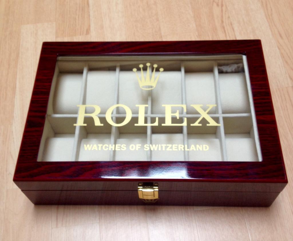 Rolex Watch Box Display Storage Box In Kelty Fife