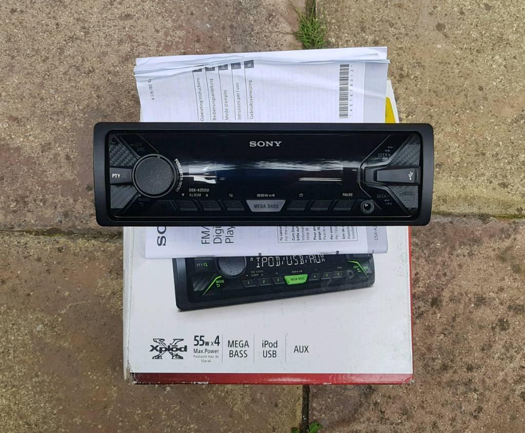 Car Stereo Radio Sony Dsx Au202ui In Erdington West Midlands Xav 601bt Wiring Harness