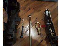 VW Car Jack Kit - incl. Car Jack, Lug Wrench, Tow Eye Hook & Screwdriver - £10