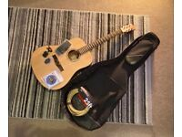 Acoustic Guitar with case and extras ***AS GOOD AS NEW***