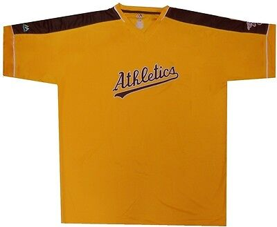 Oakland Athletics Cooperstown Majestic Mens Vintage Hit Jersey Big & Tall Sizes Athletic Big And Tall Jersey