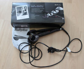 BABYLISS CURL SECRET - AS NEW CONDITION - USED ONCE - STILL BOXED - COST £125