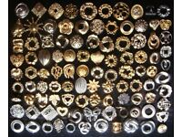 Assorted Scarf Rings *2 (price per ring)