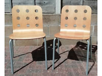 Pair of Ikea dining or office chairs