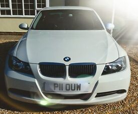 BMW 325i SE - White - Grey Interior - 40000 miles - One Previous Owner