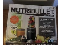 NUTRIBullet 600W 5 Piece Set Brand New & Sealed Nutri Bullet 600 Watts