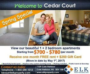 Cedar Court  | 2 Bedroom Apartment | Promotion