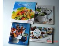 SEVEN SLIMMING WORLD BOOKS and ONE BBC GOOD FOOD MAGAZINE SLIMMING RECIPES BOOK