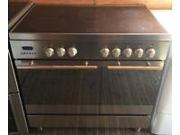 Refurbished baumatic bt2780ss electric double oven range cooker-NOW SOLD!