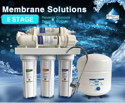 Reverse Osmosis System Water Pure Drinking Purifier+5 Stage RO Filter-75GPD Pure Drinking Water Systems