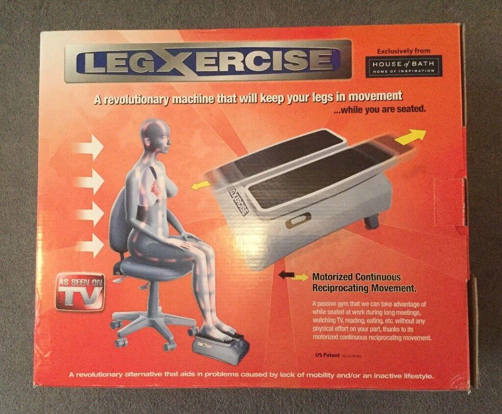 LEGXERCISE motorised passive gym for leg exercise