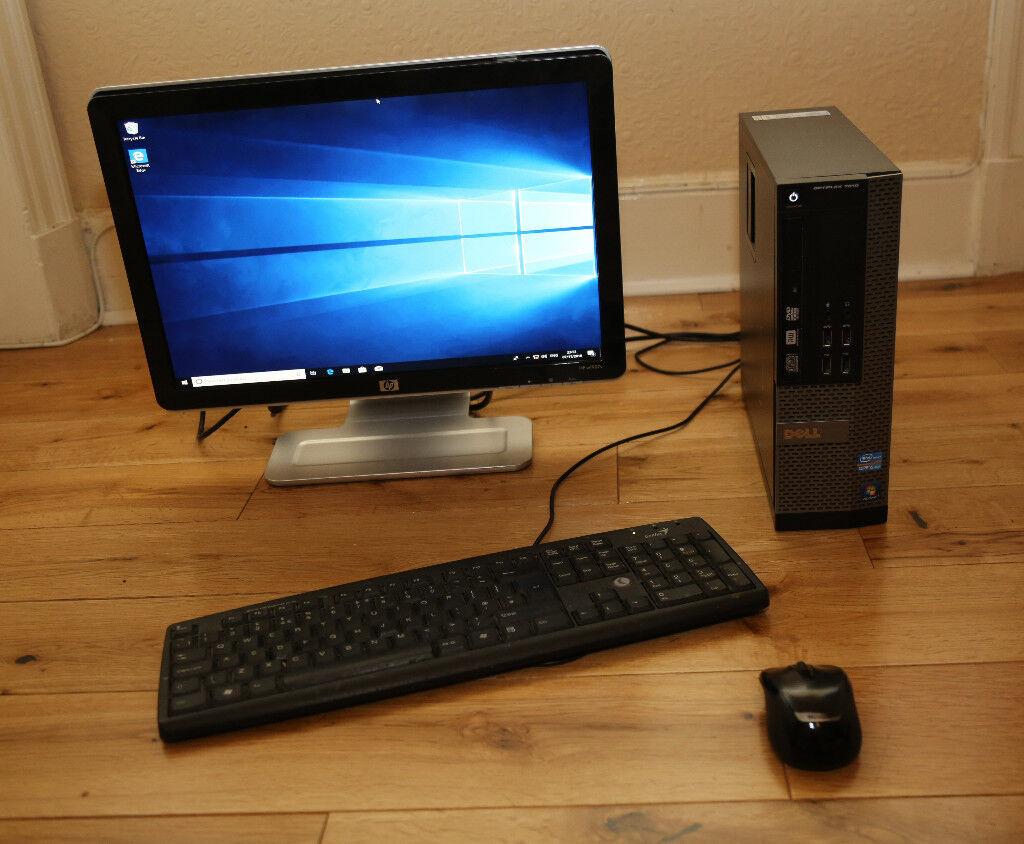 Dell Optiplex 7010 SFF PC Base Unit - Intel Quad Core i7 3.4GHz, 16GB RAM,  120 SSD   1TB HDD cbad6e67ee67