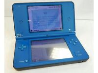 2 Nintendo DSI XL Console,1 Blue and 1 Red
