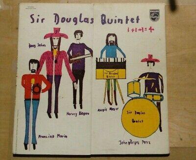 SIR DOUGLAS QUINTET 1+1+1+1=4 PROMO LP PHILIPS Gimmick Cover ORIG
