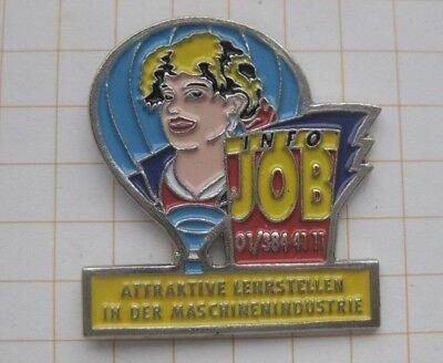 INFO JOB MASCHNENINDUSTRIE .............Ballon - Pin (172d)
