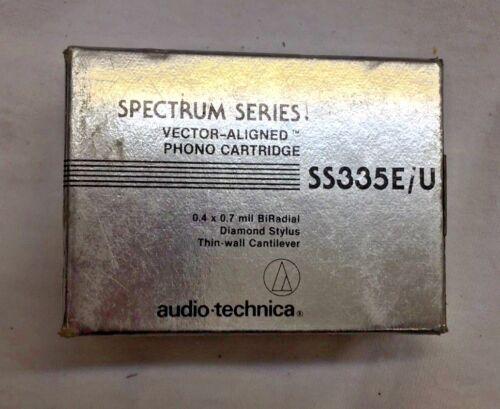 Audio Technica SS335E/U Cartridge 0.4x 0.7 mil BiRadial Diamond Stylus NEW!