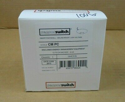 1 Nib Sensor Switch Cm Pc Cmpc Onoff Photocell Ceiling Mount 12 To 24 Vacvdc