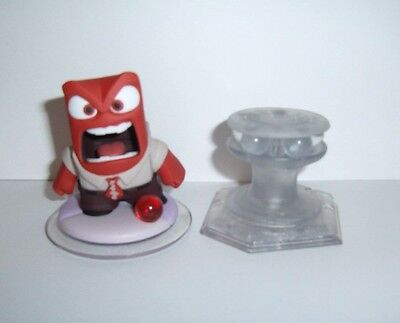 Disney Infinity 3 0 Inside Out Anger   Crystal Playset Mission Figure Character