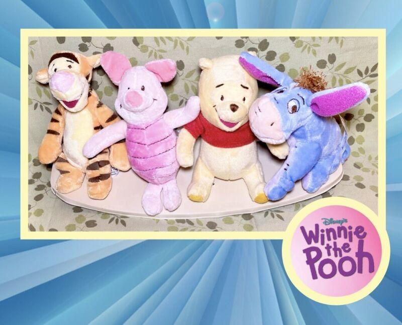 Dolly Inc - Winnie the Pooh - 4 Plush Mobile Figures - Pooh Tigger Piglet Eeyore