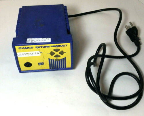 HAKKO FP-102 Future Product Soldering Station Power Supply - No Wand Key Stand