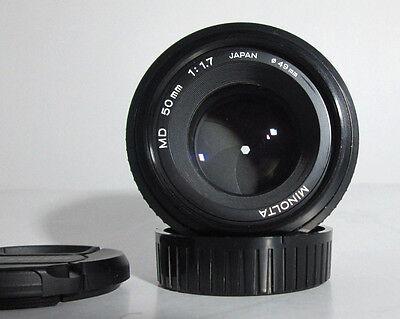 Minolta Md 50 Mm F 1 7 Lens