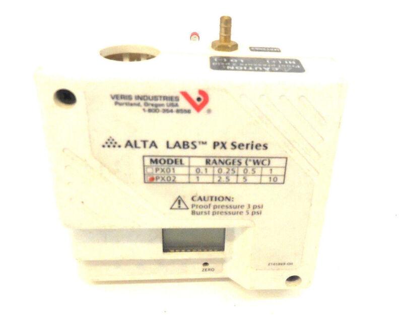 ALTA LABS PX02 PRESSURE TRANSDUCER