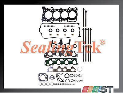 98-02 Honda 2.3L F23A Cylinder Head Gasket Set w/ Bolts Kit SOHC engine parts