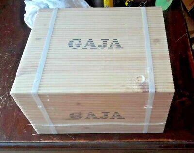 2014 GAJA - 2x S. LORENZO 2x SORI TILDIN 2x COSTA RUSSI - CASSA LEGNO 6 x 75 cl