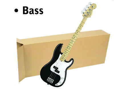 5 Pack 18x7x52 Bass Guitar Shipping Packing Boxes Storage Keyboard Heavy Duty