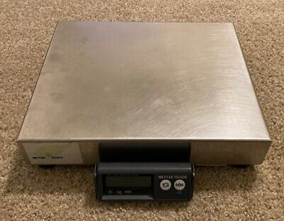 Mettler Toledo Ps60 Shipping Parcel Scale 150lb X 0.05lb Stainless Steel