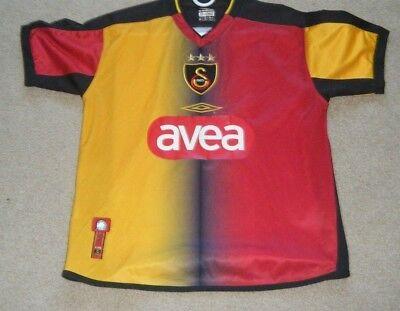 d59aeb2da Galatasaray Turkey 2003 Umbro football shirt soccer jersey Umbro size small  used