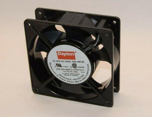 (NEW) DAYTON 4WT48 70CFM 115V 0.13W 60Hz AC Axial Fan