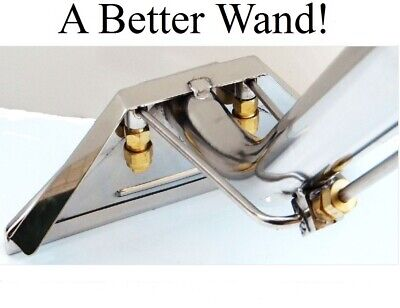 Carpet Cleaning - New 12 2-jet Machine Extractor Wand 1.5 Hose Connect