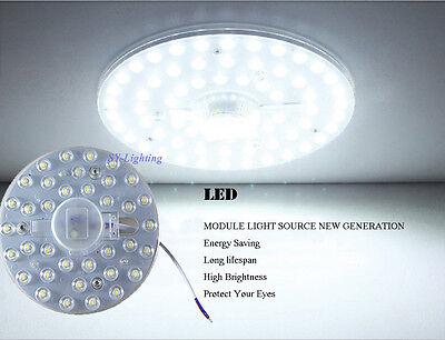 (Round board led module 12w 18w 24w 36w 40w Replace ceiling lamp light white/warm)