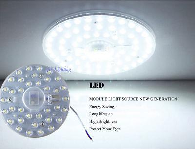 (Round led module 12w18w24w36w40w replace ceiling lamp retrofit Light 110V-220V)