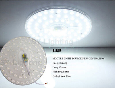 (Round pcb board led module 40w Warm / White replace ceiling lamp retrofit Absorb)