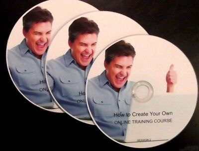 How to Create Your Own Online Training Course -  Set of 3 DVDs