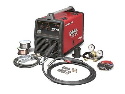Lincoln K2473-2 Power Mig 180c Mig Welder Pkg.