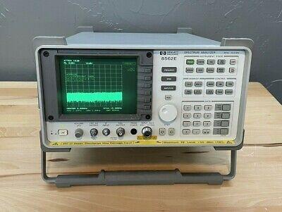 Hp Agilent 8562e 30 Hz To 13.2ghz Portable Rf Spectrum Analyzer - Calibrated