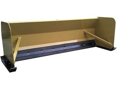 New 6 Skid Steertractor Loader Snow Box Pusher Plow Blade Casejohn Deere 72