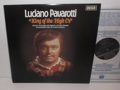 """SXL 6658 Luciano Pavarotti """"King Of The High C's"""""""