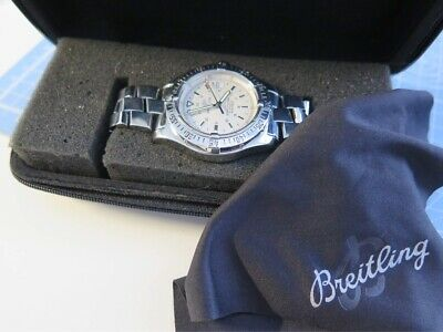 BREITLING Colt A17380 Date Automatic Men's Watch - working fine.