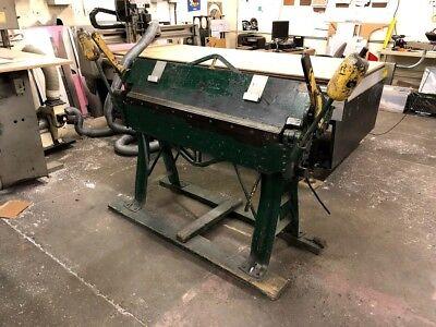 Chicago Steel Hand Bending Brake - Size 48 - Dreis Krump
