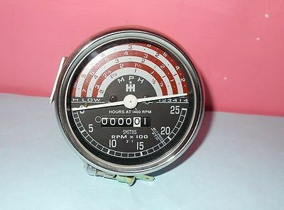 Tachometer For Ih International B250- B275- B414-276-354 434 444