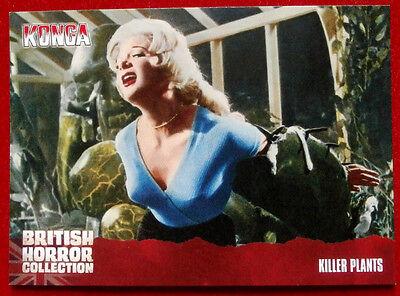 BRITISH HORROR - Card #63 - Konga! - KILLER PLANTS