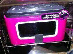 Jam ZZZ Bluetooth Wireless Bedside Sound System AM FM Alarm Clock/Device Charger