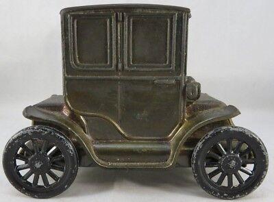 Banthrico Metal Car Bank 1910 Baker Electric York Haven PA Promo Coin Vintage