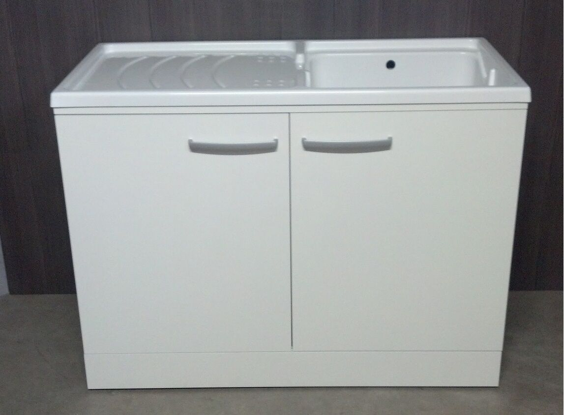 Lavatoio portalavatrice lavello mis109x60 for Mobile incasso lavatrice